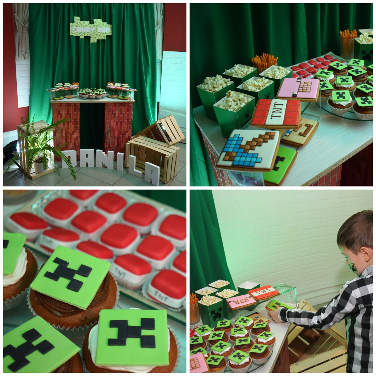Фото Baby Minecraft Party for Danila | 01